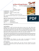 Bob Levin-5 White Cheese Pizza & Dough Recipe