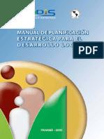 Manual de planificación estratégica para el desarrollo local