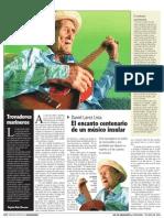 El encanto centenario de un músico insular