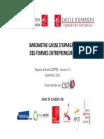 Rapport Femmes Entrepreneures 031012 Mode de Compatibilite