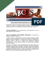 ABCES Contratacion Publica o Estatal