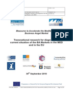 Transnational research for diagnosing the current situation of the BA Markets in the MED and in the EU