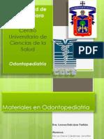 Materiales Usados en Odontopediatria Final