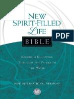 New Spirit-Filled Life Bible (NIV)