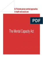Presentation Mental Capacity Act