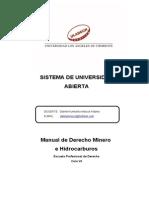 1. Derecho Minero