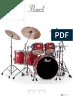 2012 Pearl Drum Catalog