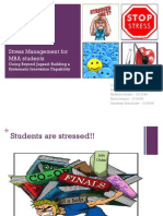 GBJ - Project 1 - Stress Management Project