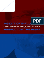 Does Grover Norquist support Islamists in the United States, including Muslim Brotherhood operatives?
