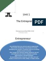 1_unit 1 Entrepreneur