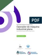 Md Industria Textil Indumentaria Operador de Maquina Plana