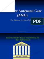 Overview Antenatal Care