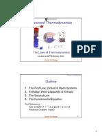 CHPR4404 Advanced Thermodynamics Lecture 02
