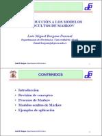 Introduccion Al Modelo Oculto de Markov -Luis Bergasa