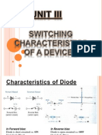 switching characteristic of devices