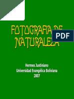 Curso de Fotografía de Naturaleza - Principios Basicos