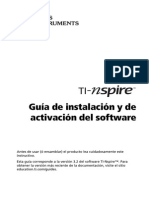 TI-Nspire Installation Guidebook ES