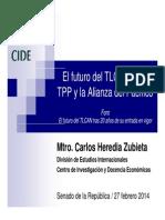 27-02-14 El futuro del TLC frente al TPP y la Alianza del Pacífico