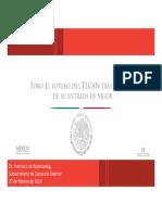 27-02-14 El Futuro del TLCAN tras 20 años de su entrada en vigor