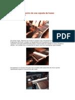Tallado e instalación de una cejuela de hueso