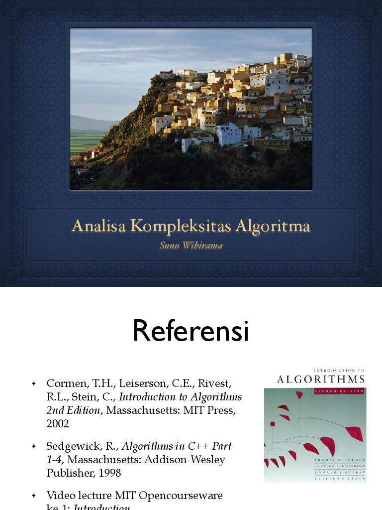 04 Analisa Algoritma