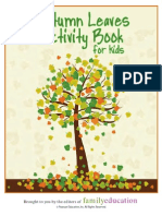 Autumn Leaves Activity Booklet