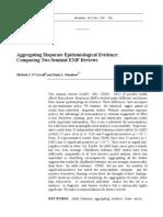 O'Carroll & Henshaw 2008 Aggregating Disparate Epi Evidence Risk Analysis 28(1)_ 225-234