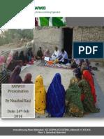 SAFWCO Development Fact File by Naushad Kazi