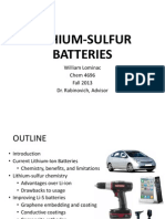li-s batteries