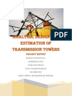 Report on Transmission Towers
