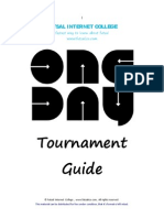 Futsal Tournament Guide