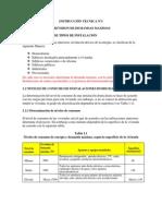 INSTRUCCIÓN TECNICA Nº1