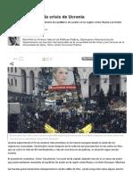 La geopolítica de la crisis ucraniana