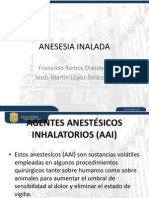 Anestesia Inhalada