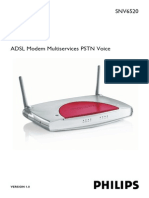 Philips Snv6520 Adsl Mulyiservice