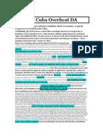 1NC Cuba Overheat DA