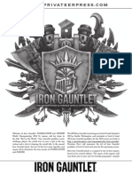 Iron Gauntlet 2014 Print