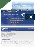 Apresentação para Visita Técnica ADEQUAÇÃO DA UG50HZ – CTE1