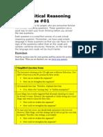 CR GMAT Document