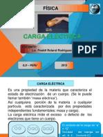 CARGA Y FUERZA ELÉCTRICA 2013-II