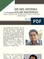 ANÁLISIS DEL SISTEMA CURRICULAR NACIONAL
