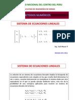 Clase5 Sistema de Ecuaciones