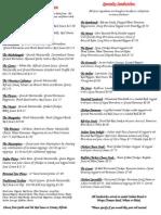 aop menu updated
