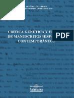 PRELIMINARES crítica genética-