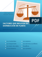 Factores que influyen en la distribución en planta (Omar)