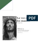 La Voz de Los Mansos (Score)