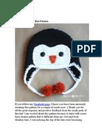 Crochet Penquin Hat
