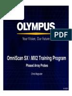 OmniSX MX2 Training 4B Phased Array Probes