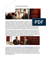 Personal Accident Injury Attorneys in San Diego