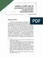 Gerardo Eto Cruz Normas Constitucionales Inconstitucionales